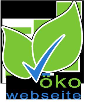 Bild 100 Prozent ökologische Webseiten